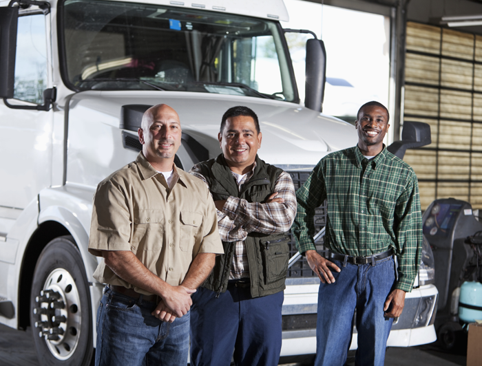 3 truckers who are heroes.