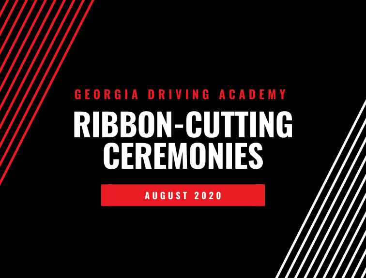 georgia driving academy ribbon cutting ceremony